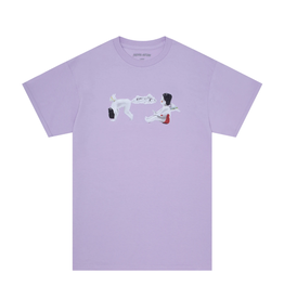 Fucking Awesome Cherub Fart T-Shirt - Orchid