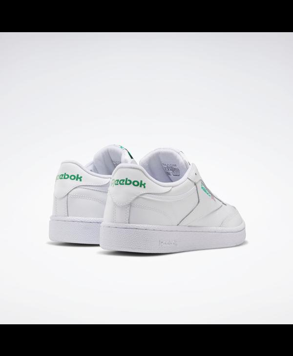 Club C 85 - Intense White / Green