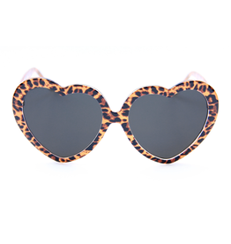 Happy Hour Heart Ons - Leopard