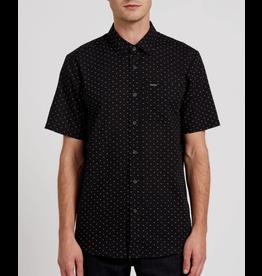 Volcom Stallcup Short Sleeve Shirt - Black