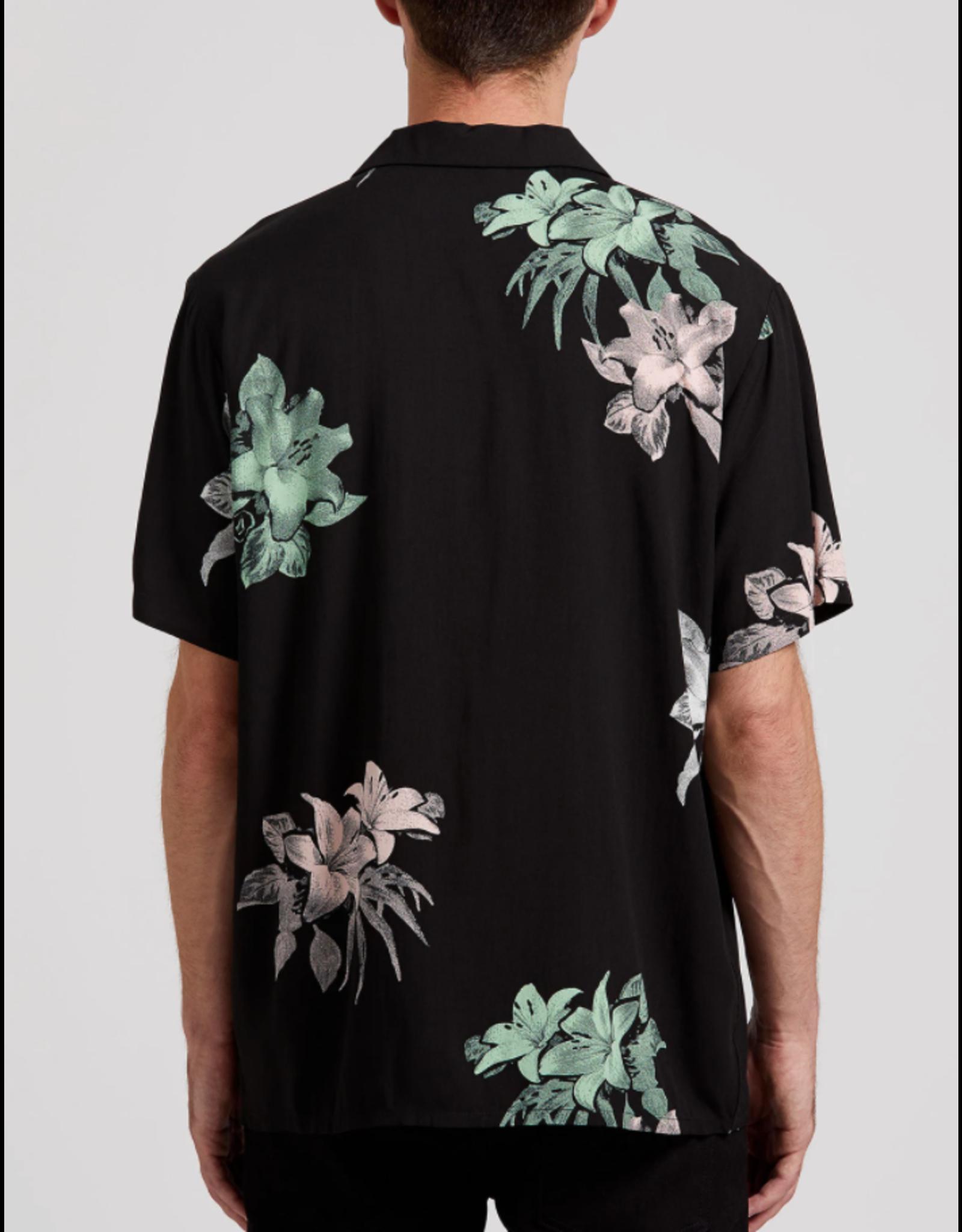 Volcom Richardt Short Sleeve Shirt - Black