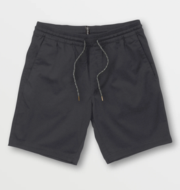 Volcom Frickin Elastic Waist Shorts - Charcoal