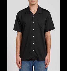 Volcom Deano Short Sleeve Shirt - Black