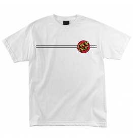 Santa Cruz Classic Dot T-Shirt - White