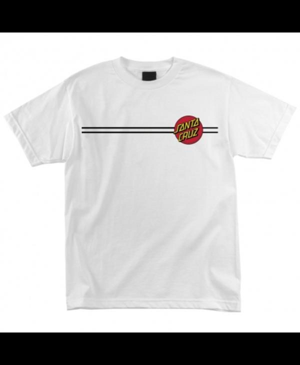 Classic Dot T-Shirt - White