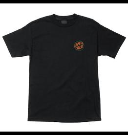 Santa Cruz Toxic Hand T-Shirt - Black