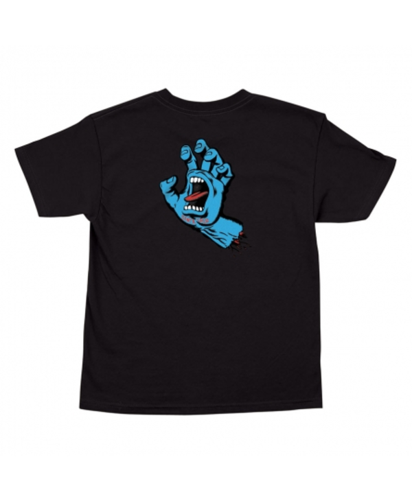 Youth Screaming Hand T-shirt - Black