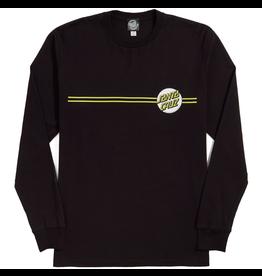 Santa Cruz Other Dot Longsleeve - Black/Yellow