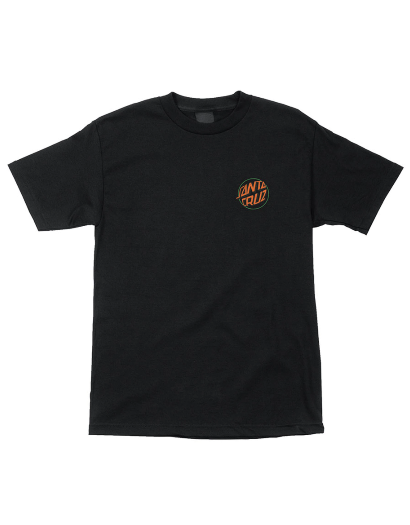 Santa Cruz Youth Toxic Hand T-Shirt - Black