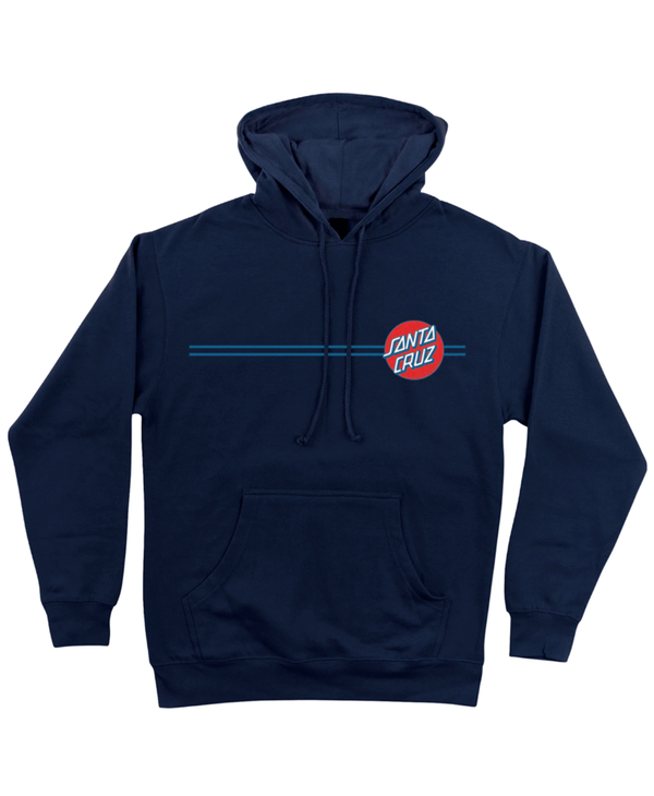 Other Dot Hoodie - Navy/Blue/Red