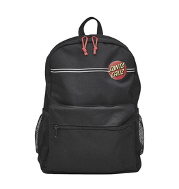 Santa Cruz Classic Dot Stripe Backpack - Black