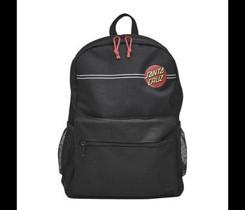 Classic Dot Stripe Backpack - Black