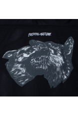 Fucking Awesome Dogs Football Jersey - Black