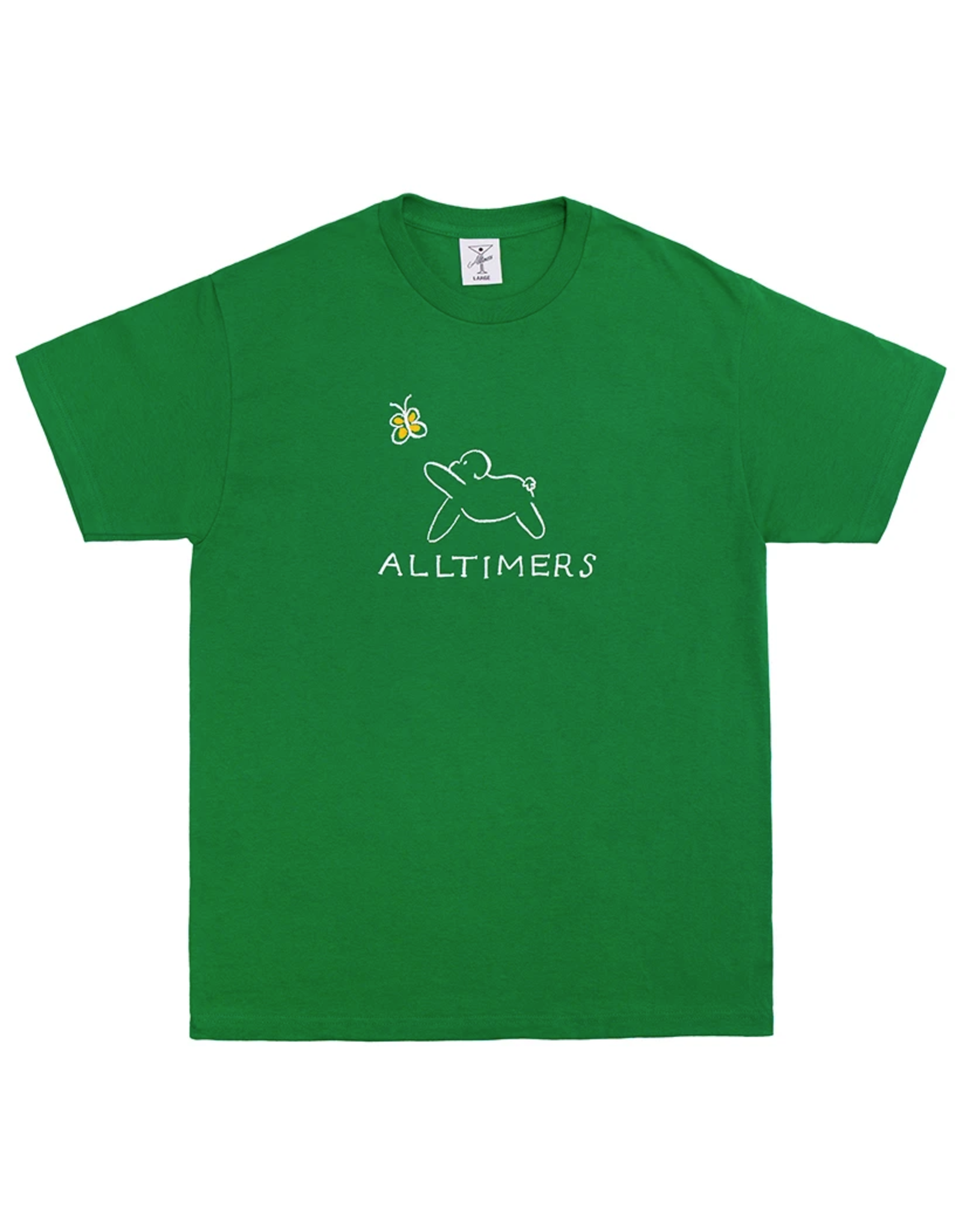 Alltimers Claire Pup T-Shirt - Kelly Green