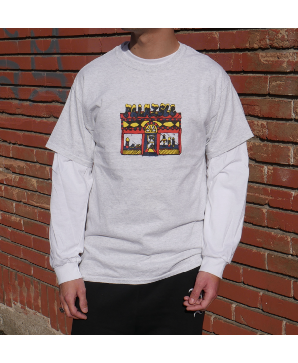 Store Front Tee - Ash