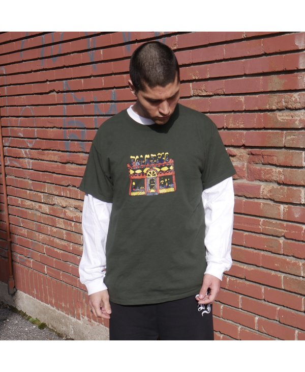 Store Front Tee - Forest