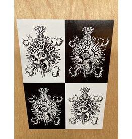 Palm Isle Dagger Sticker