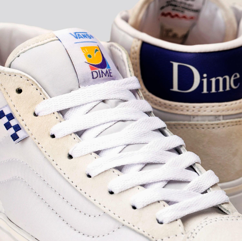 Dime X Vans Skate Mid Skool L launching on April 17th 2021