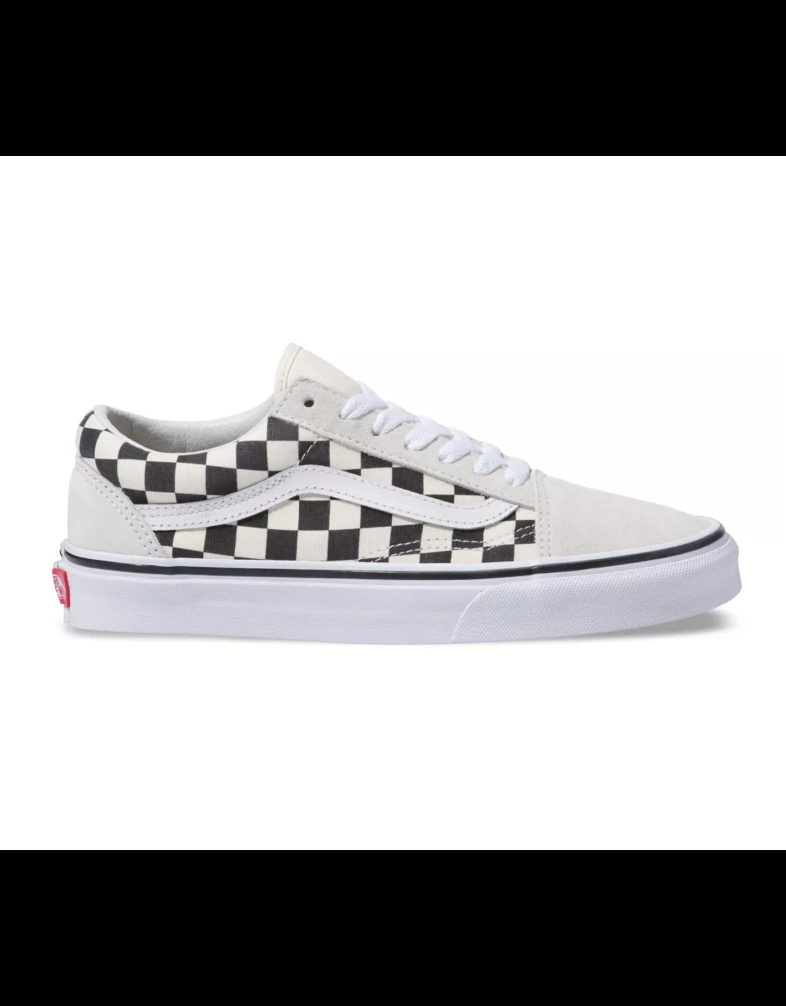 Vans Old Skool - Checkerboard White