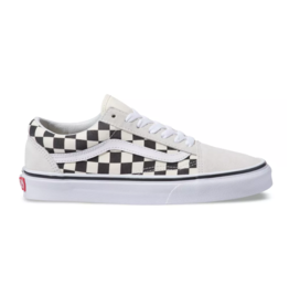 Vans Old Skool - Checkerboard White