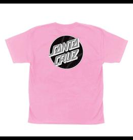 Santa Cruz Youth Framework Dot T-Shirt - Pink