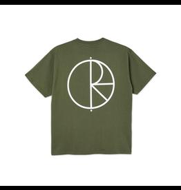 Polar Stroke Logo Tee - Uniform Green