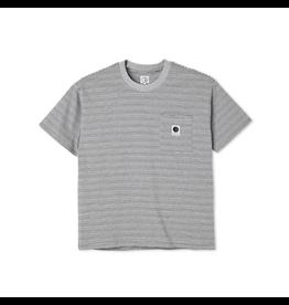 Polar Stripe Pocket Tee - Grey