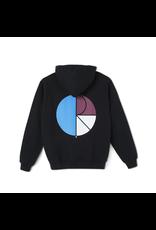 Polar 3 Tone Fill Logo Hoodie - Black