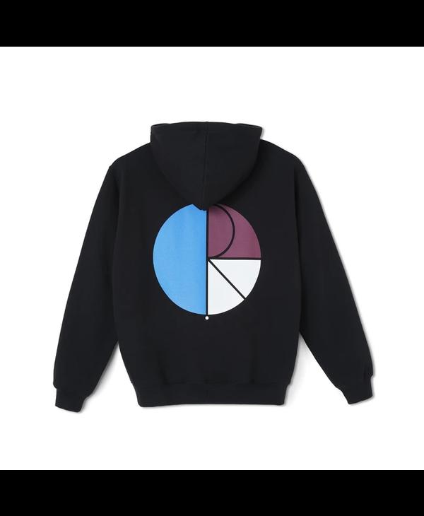 3 Tone Fill Logo Hoodie - Black
