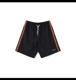Polar Square Stripe City/Swim Shorts - Black