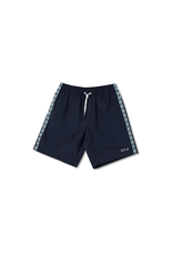 Polar Square Stripe City/Swim Shorts - Navy