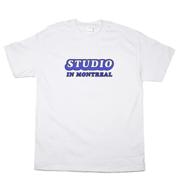 Studio In Montreal Tee - White