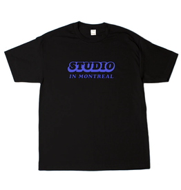 Studio In Montreal Tee - Black