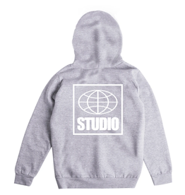 Studio Global Hoodie - Heather Grey