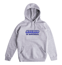 Studio In Montreal Hoodie - Heather Grey
