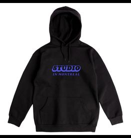 Studio In Montreal Hoodie - Black