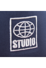 Studio Global Snapback - Navy/Red