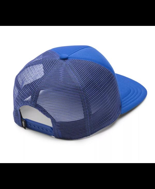 Have A Day Trucker Hat - Deep Ultramarin