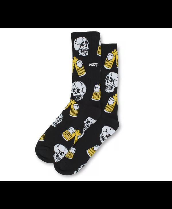 Beer Til Death Crew Socks - Black