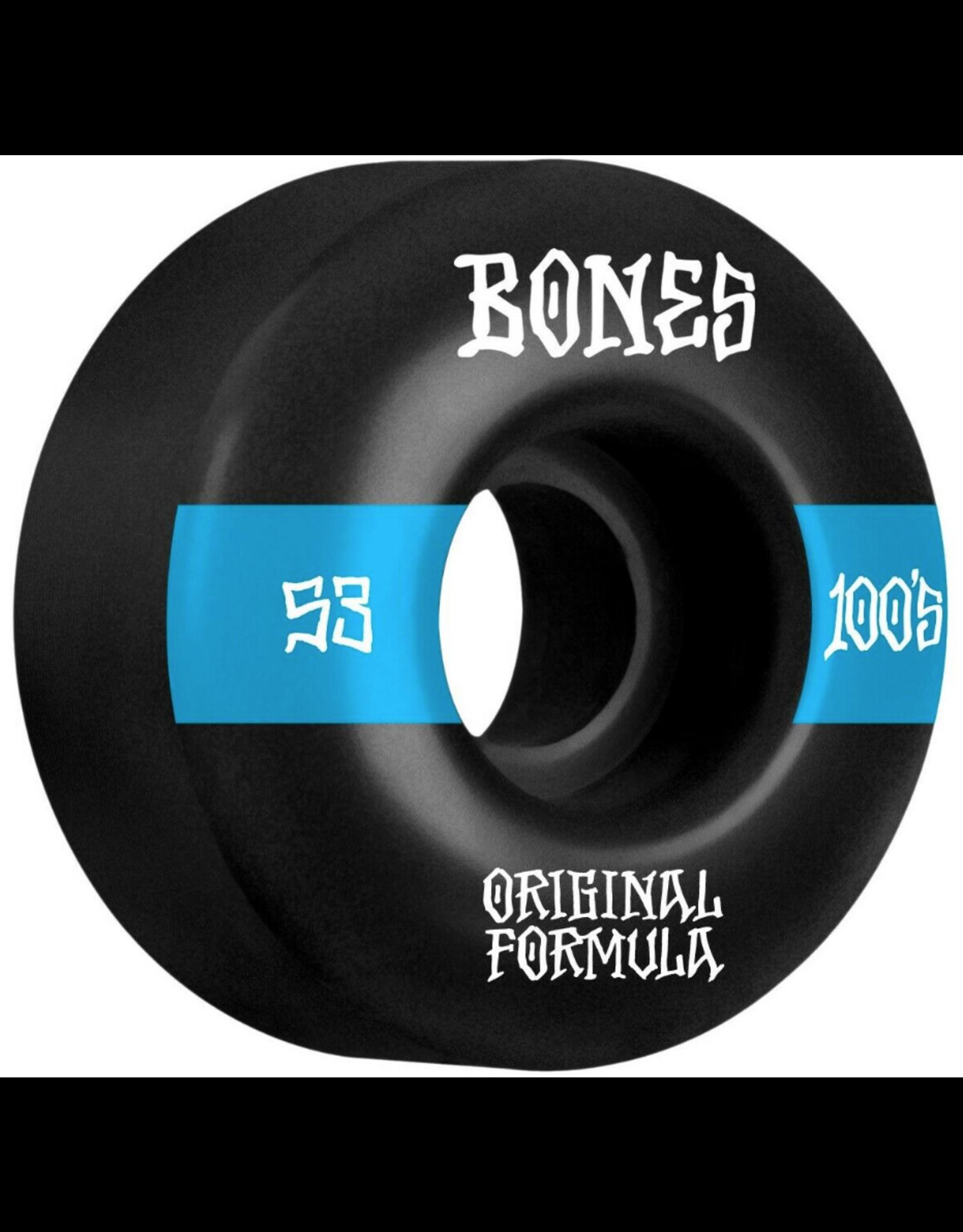 Bones Price Point V4 Wides 100's - Various Sizes Black