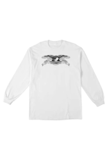 AntiHero Basic Eagle Longsleeve - White/Black