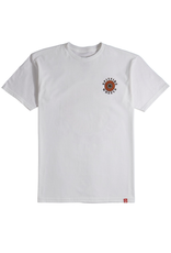 Spitfire OG Classic Fill T-Shirt - Silver/Red