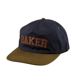 Baker Oscar Snapback - Navy/Green