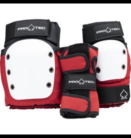 Pro-Tec Street Gear 3-Pack Junior - Red/White/Black