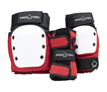 Street Gear 3-Pack Junior - Red/White/Black