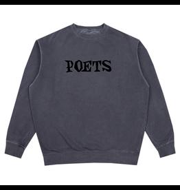 Poets Velvet Crewneck - Stone