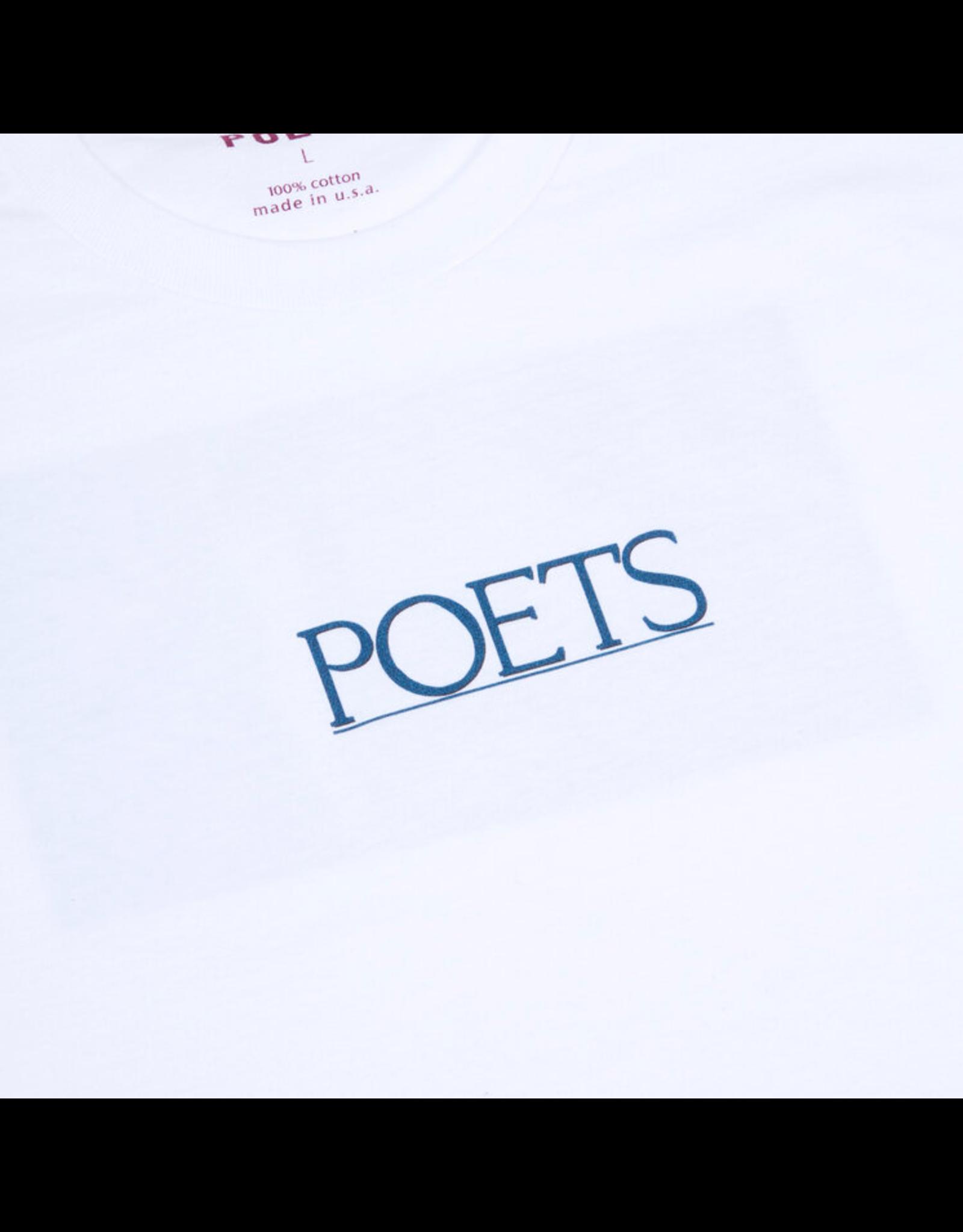 Poets Neil T-Shirt - White