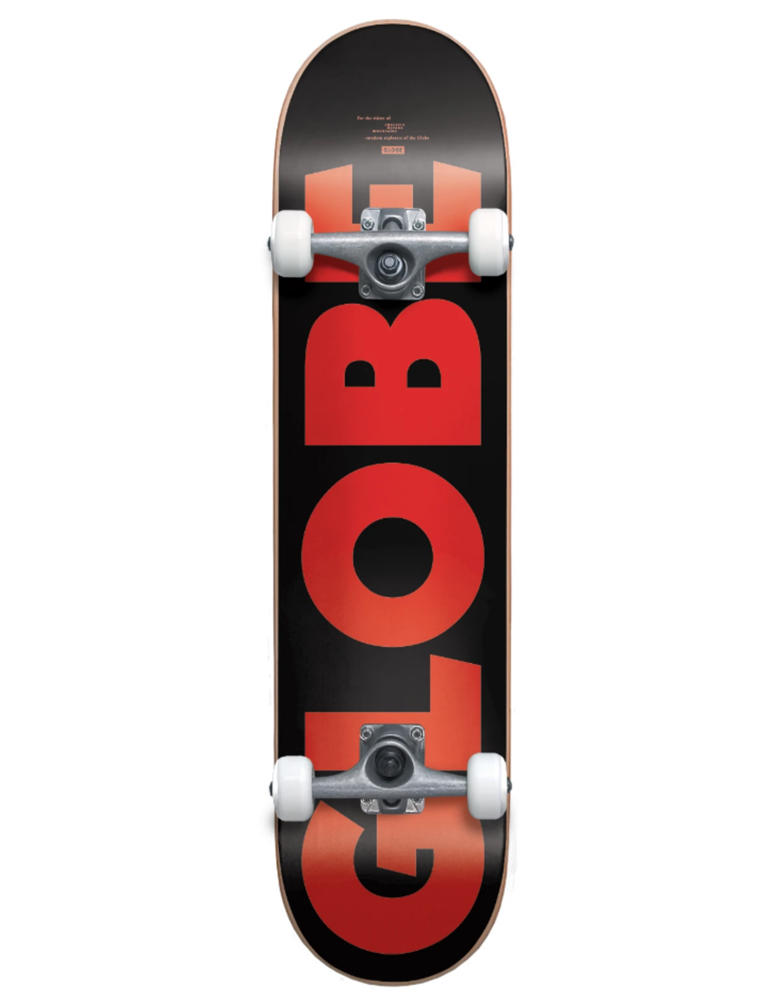 "Globe G0 Fubar - Black/Red - 7.75"""