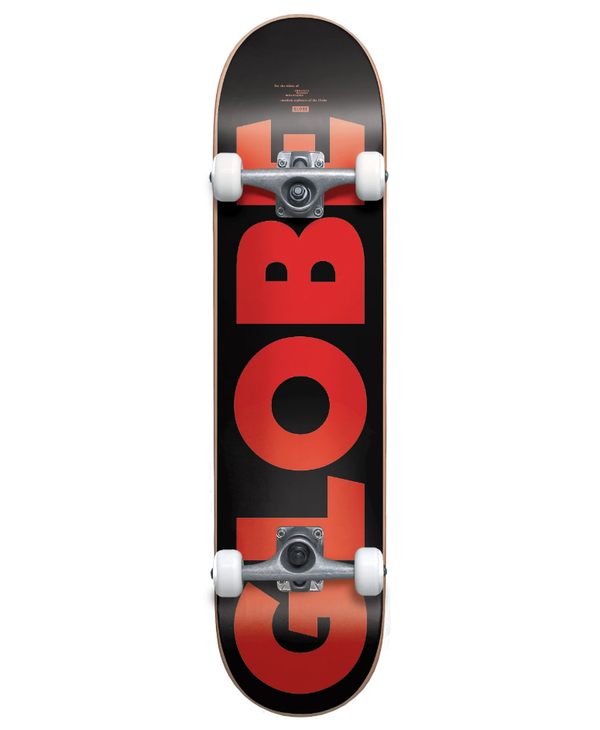 "G0 Fubar - Black/Red - 7.75"""