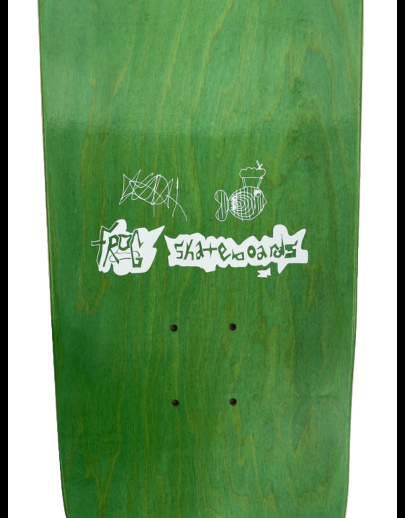 """Frog Smoking Fish Deck - 8.25"""""""